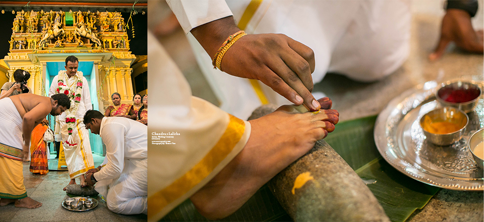 Groom foot