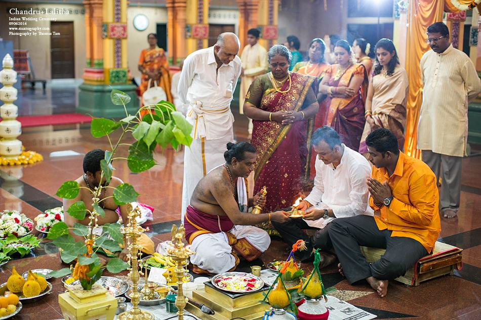 Indian groom ceremony