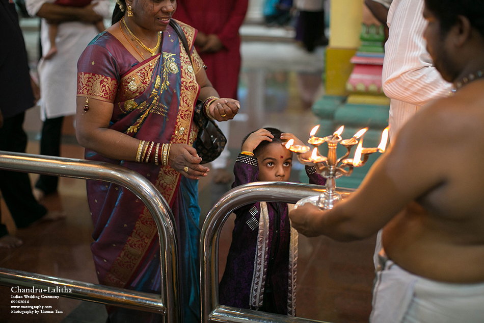 indian kids gets blessing