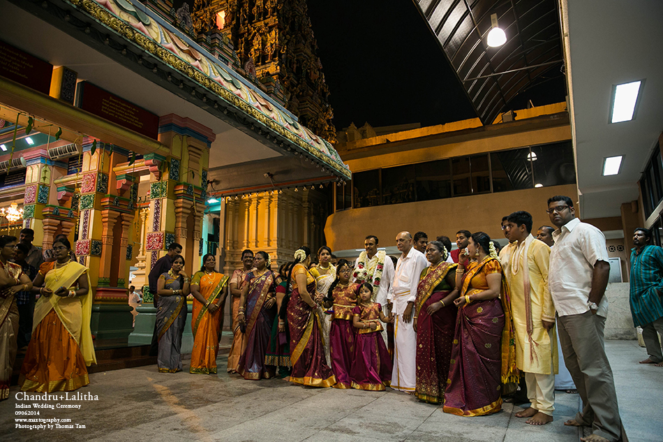 waiting in the temple
