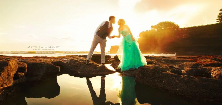 Matt & Mandy @ Bali Pre-Wedding Photography