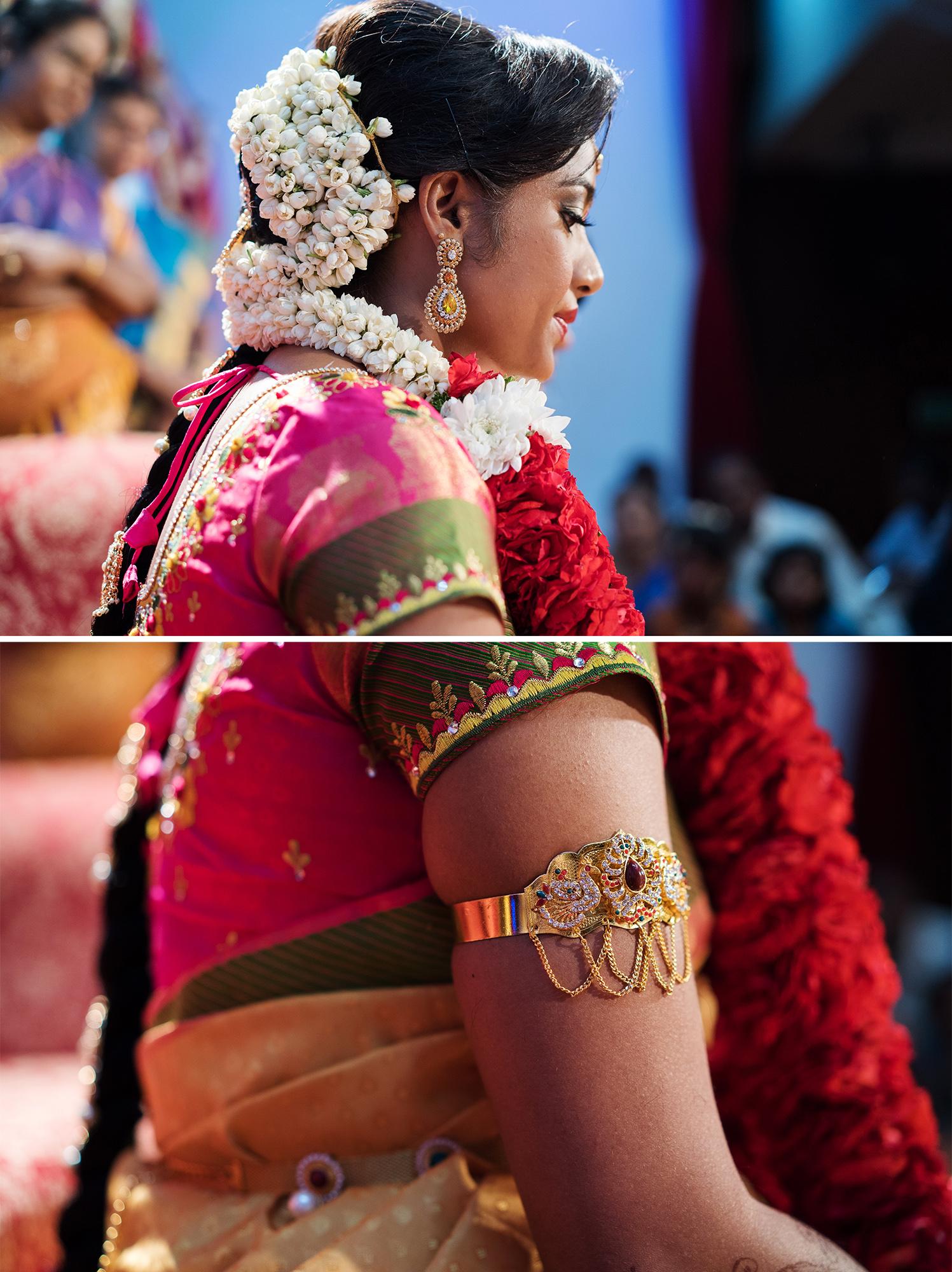 Bride and hands