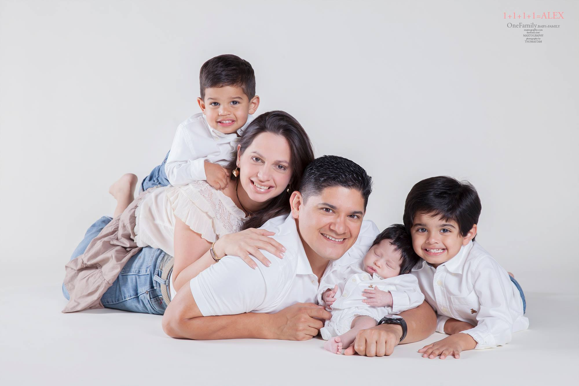 family photography in studio