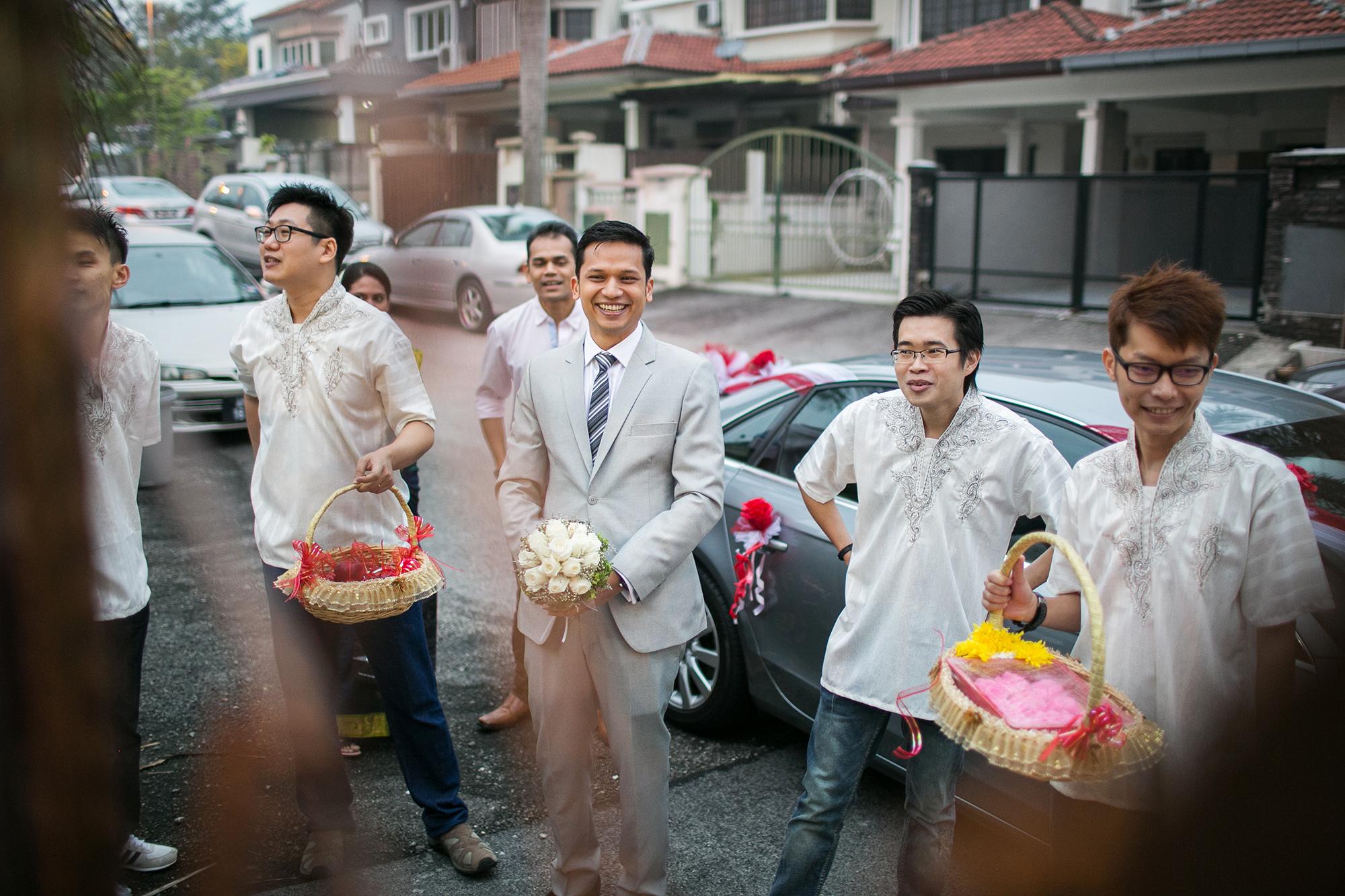 groom arrival