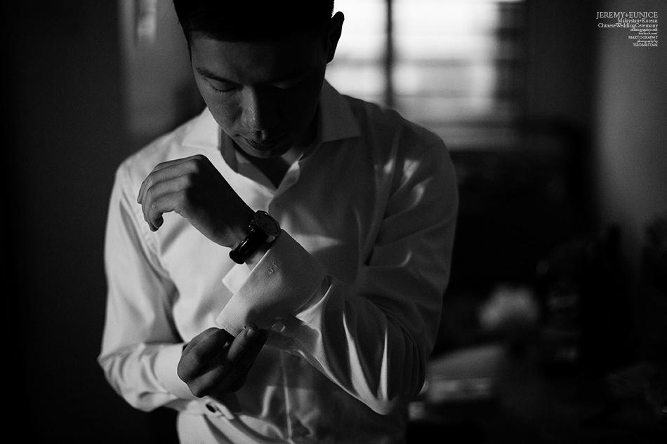 groom button shirt