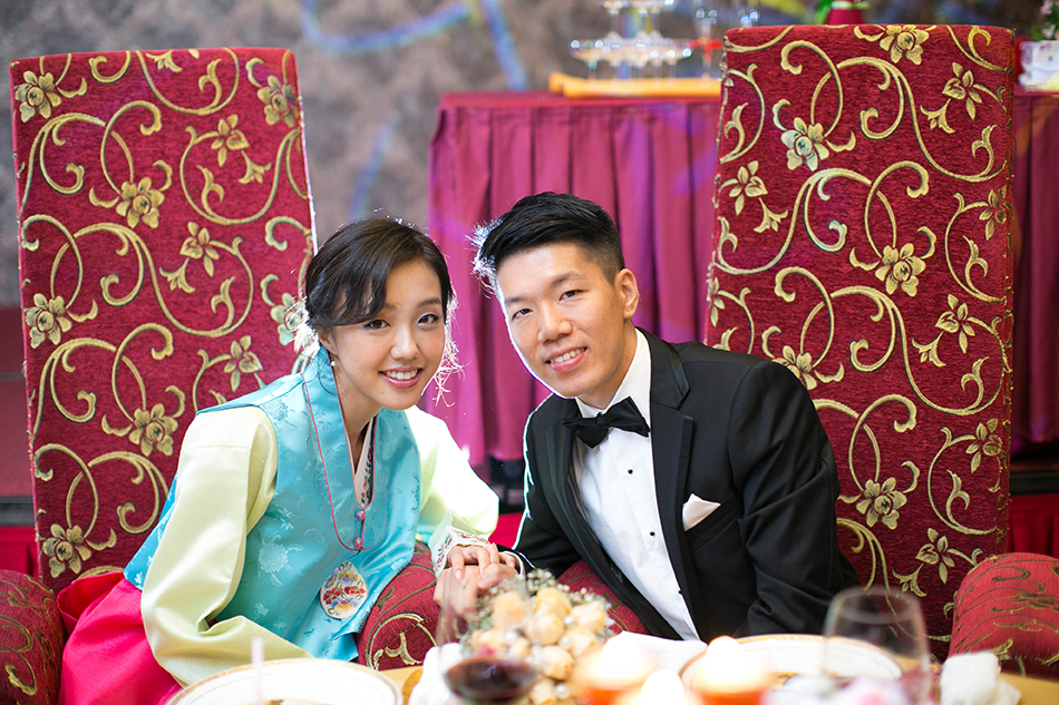 korean bride and malaysian groom