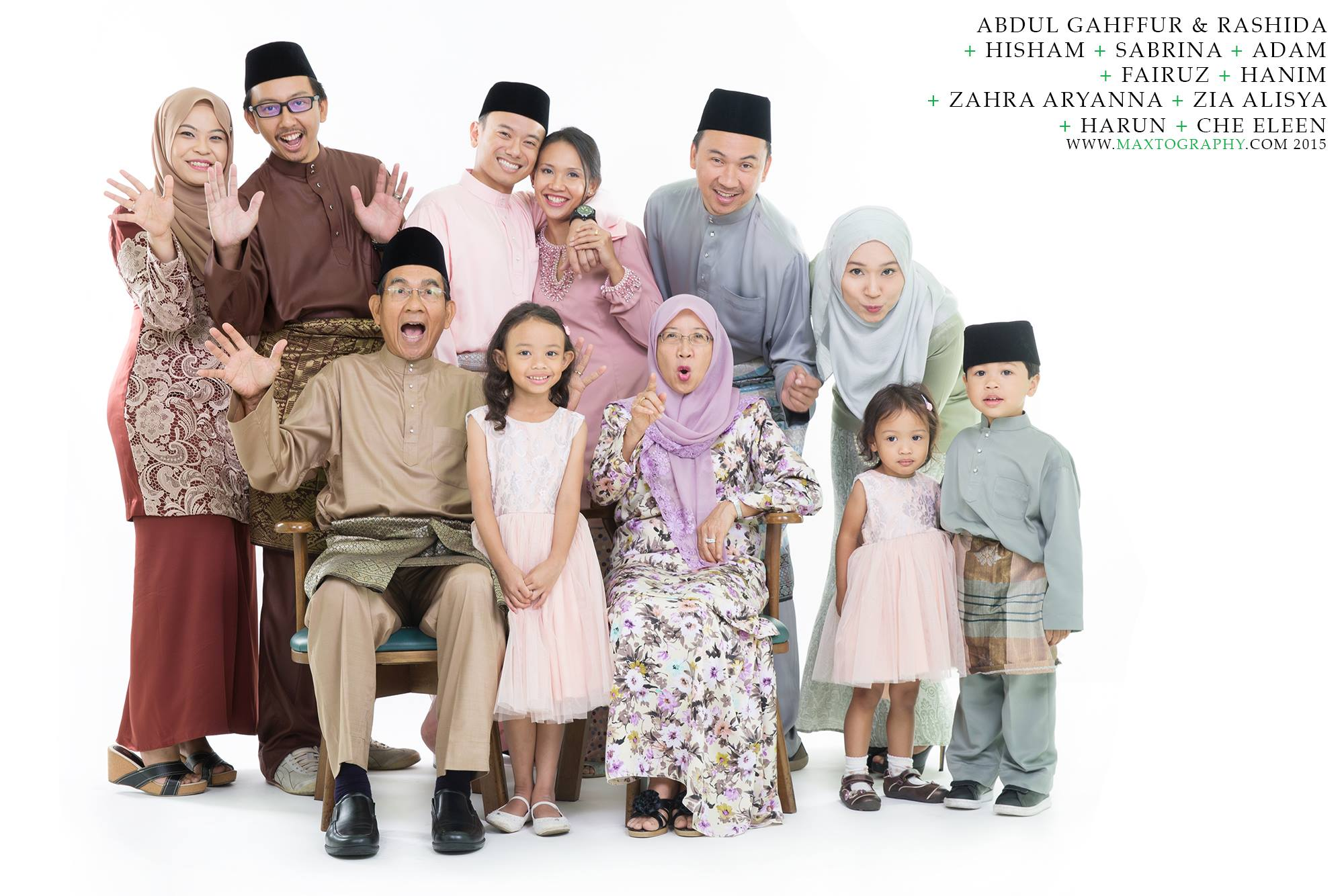 malay family photography