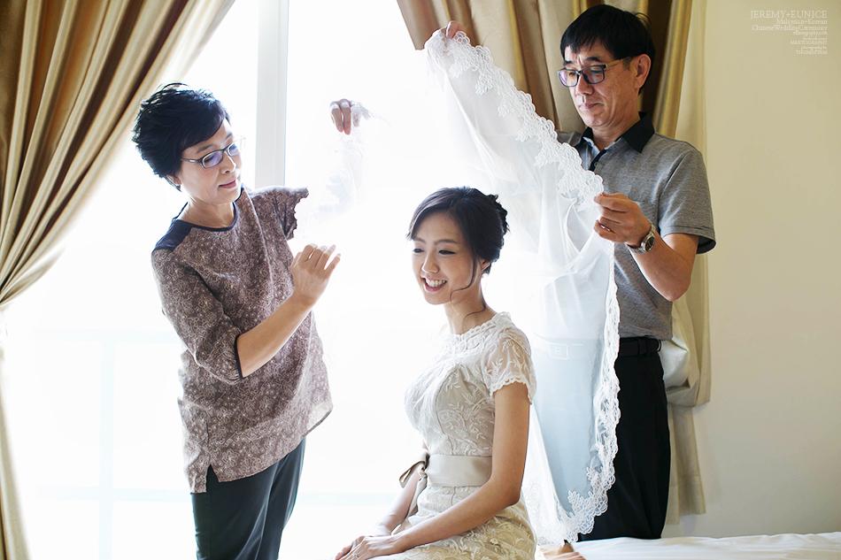 parent cover veil for bride