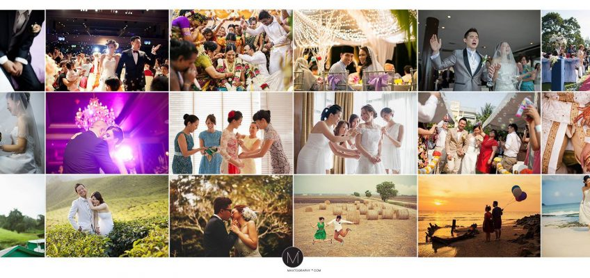 The Best Maxtography Wedding Photos thru the years