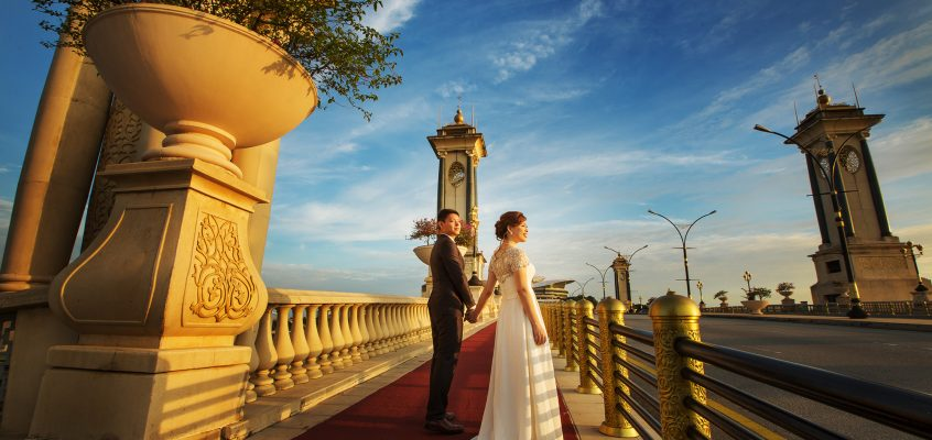 Henry & Charmaine Pre-Wedding at Putrajaya