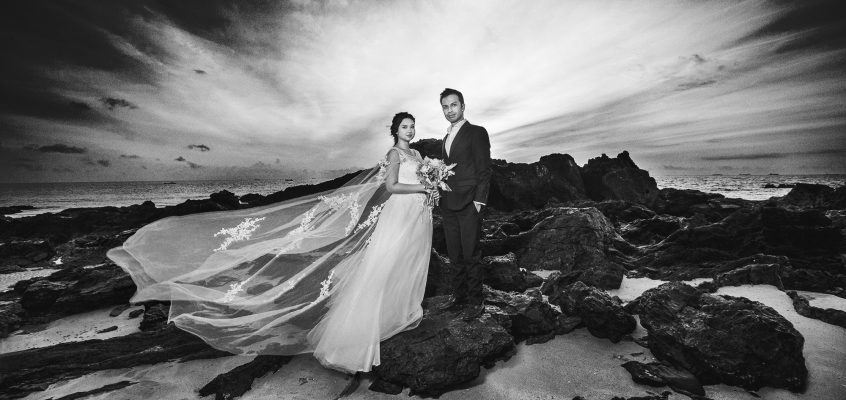 Harris & Serena Pre-Wedding photography at Batu Layar, Johor 2017