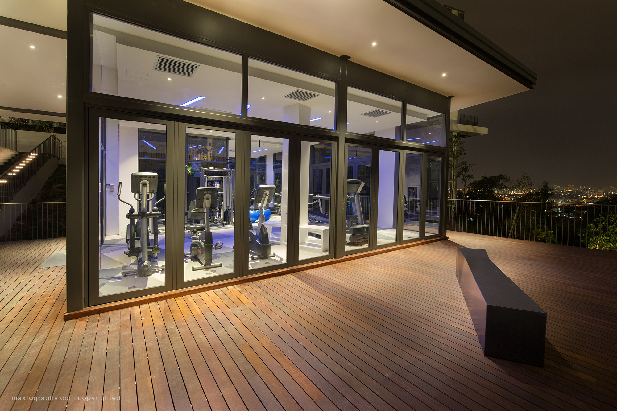 The Mansion Desa Park City GymRoom_HDR